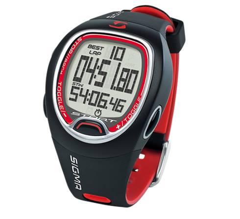Sigma Stopwatch SC 6.12 punane