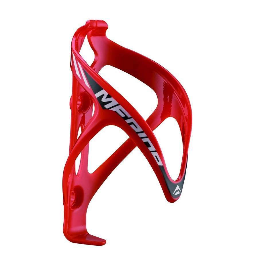 Pudelikorv Merida plastik punane-valge
