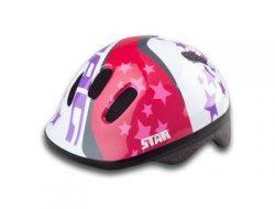 Lastekiiver Drag Stars 48-52cm roosa-valge