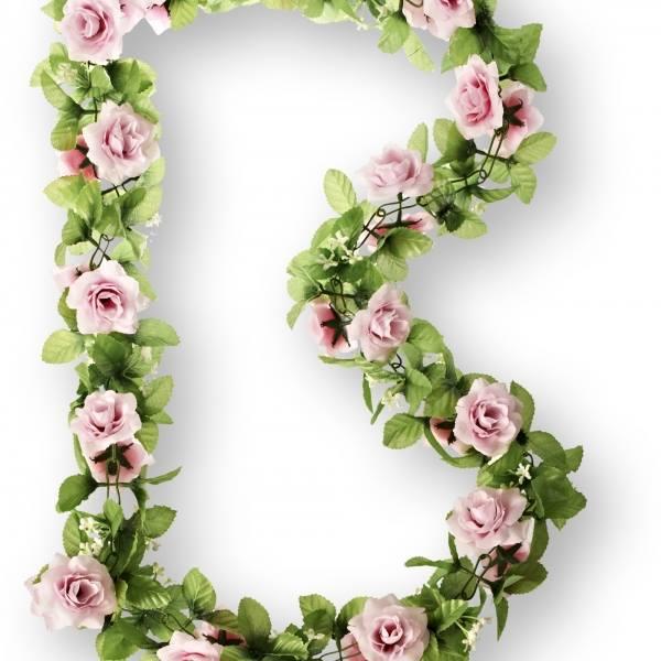 Lillevanik BASIL FLOWER GARLAND roosad roosid