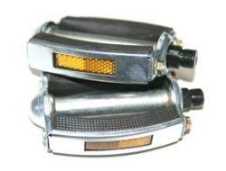 Pedaalid HLP-4002 metall hõbekumm must (vene)