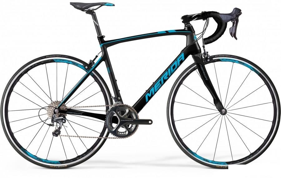 Merida Ride 5000 carbon-must-sinine
