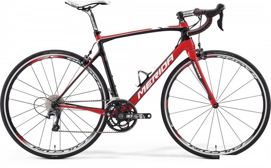 Merida Ride 7000 carbon-punane-valge
