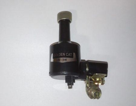 dunamo-6v-3w-vasak-plast-metall-must