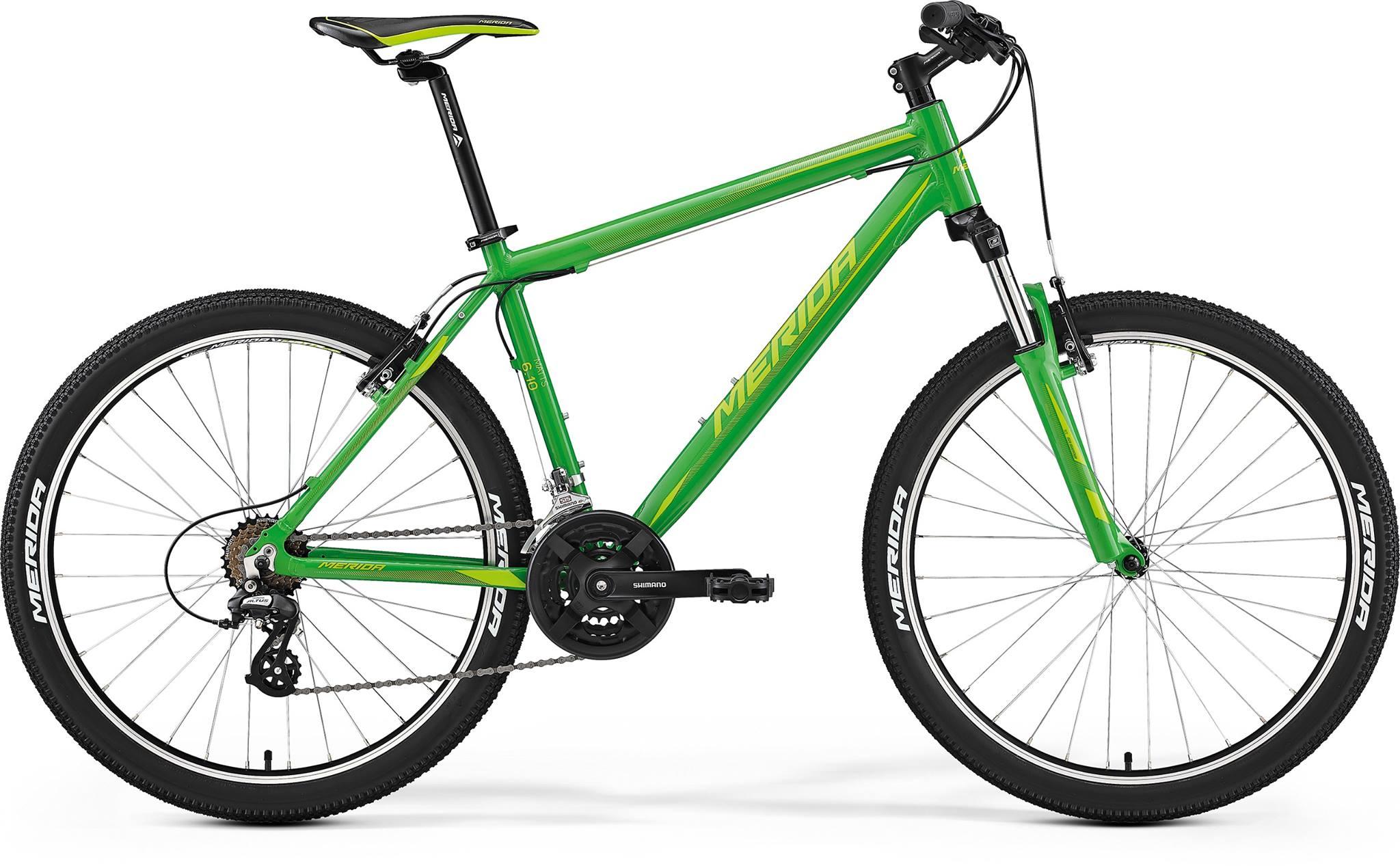 Merida Matts 6.10-V roheline-heleroheline