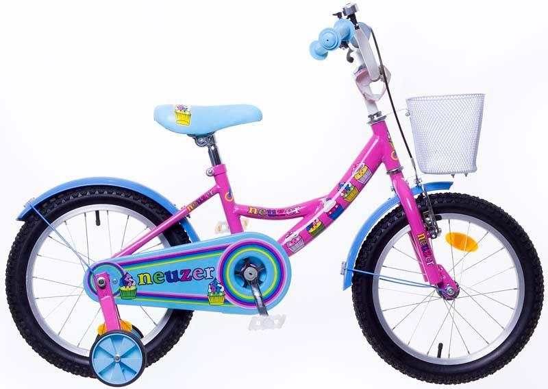 Neuzer BMX 16″ tüdrukute roosa