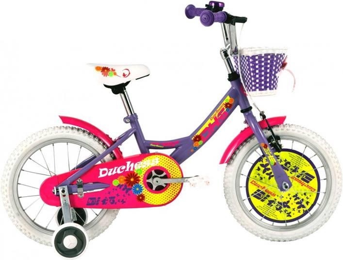 DHS 16″ Tüdrukute lilla-roosa