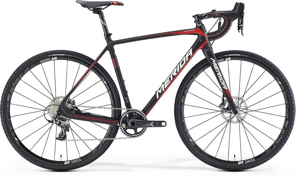 Ratas Merida Cyclo Cross 9000 matt must-punane-valge