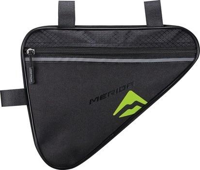 Raamikott Merida Triangle bag must-roheline