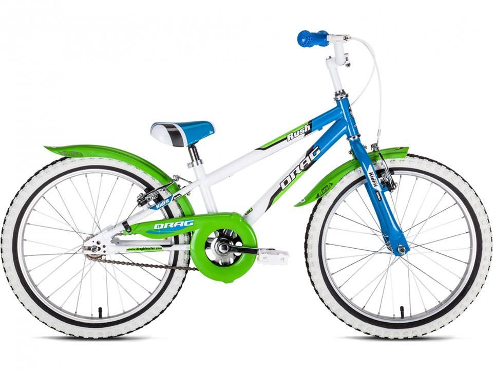 Drag Rush SS 20 1K roheline-valge-sinine