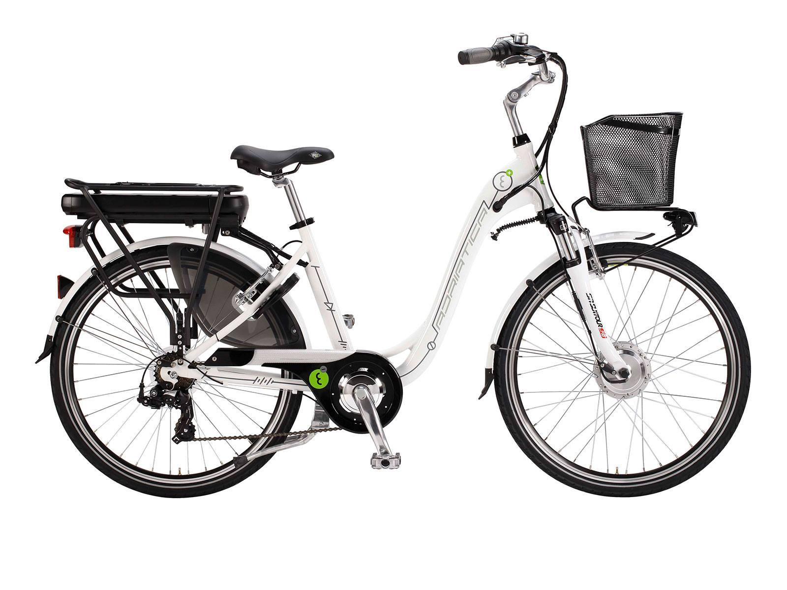 Adriatica E-Bike 26 45cm Naiste valge